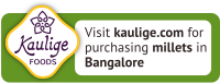 Visit kaulige.com for puchasing millets in Bangalore